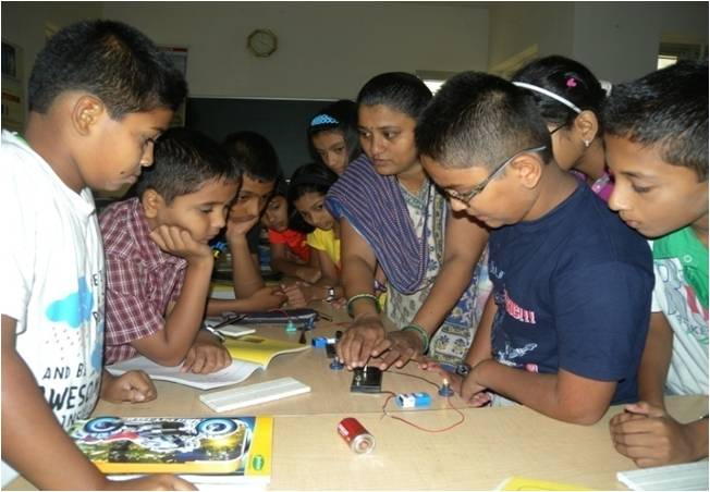 Summer workshop for SSC & ICSE Students