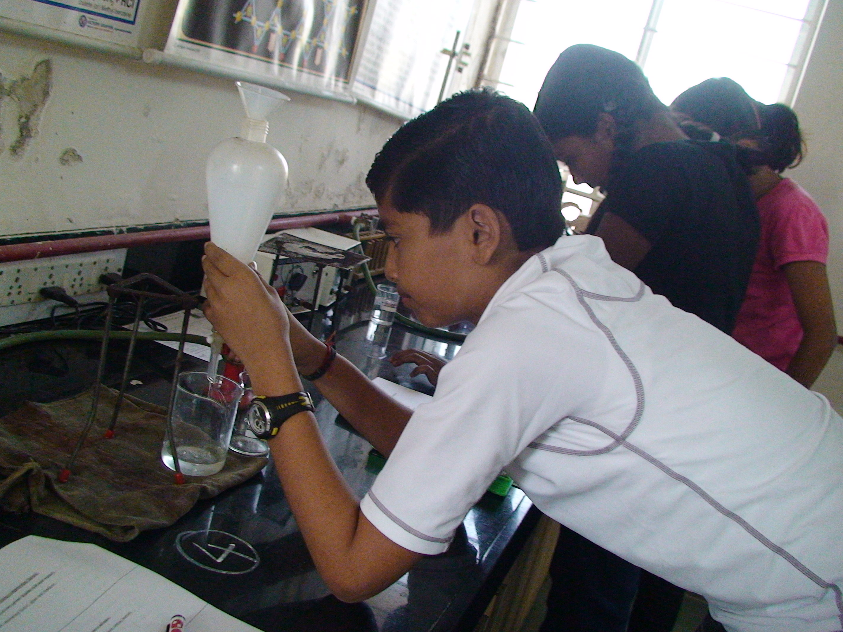 Homi Bhabha Young Scientist Examination-Guidance for Practicals