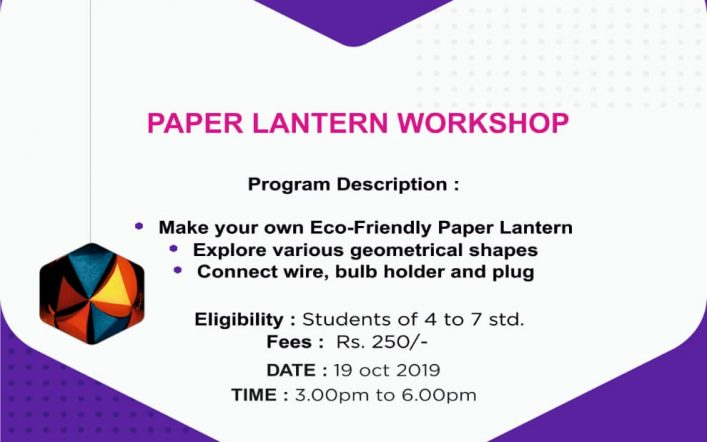 Paper Lantern Workshop