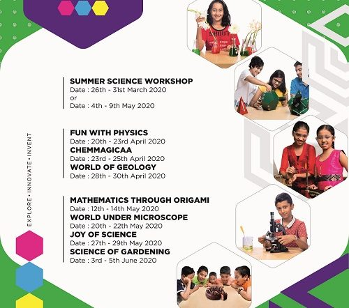 Summer Science Workshop